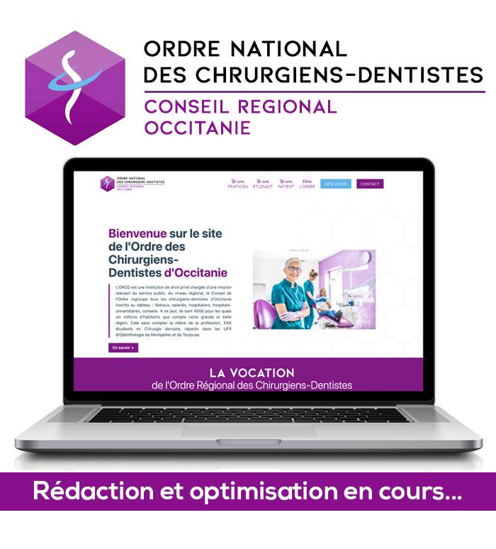 Site internet ORCD Occitanie